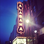 Alabama Theatre, downtown.